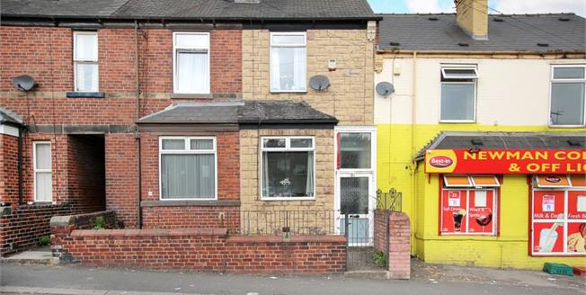 Guide Price £75,000, 3 Bedroom Terraced House For Sale in Sheffield, S9