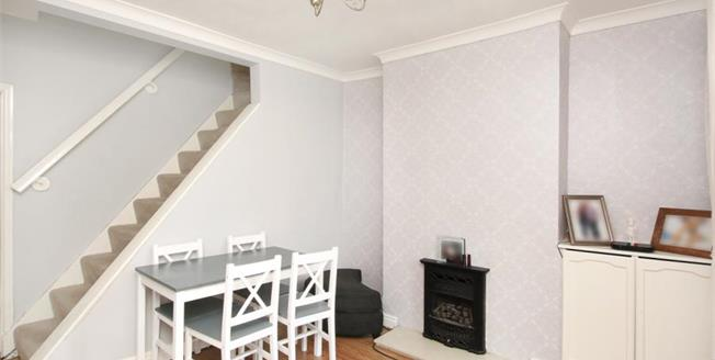 Guide Price £110,000, 2 Bedroom End of Terrace House For Sale in Chapeltown, S35
