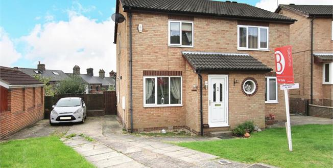 Guide Price £130,000, 2 Bedroom Semi Detached House For Sale in High Green, S35
