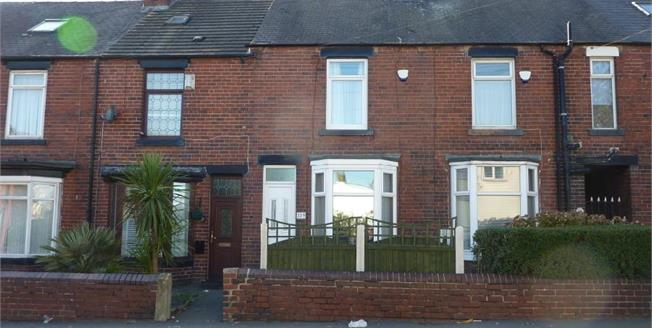 Guide Price £55,000, 2 Bedroom Terraced House For Sale in Sheffield, S5