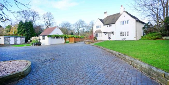Guide Price £575,000, 4 Bedroom Detached House For Sale in Old Whittington, S41