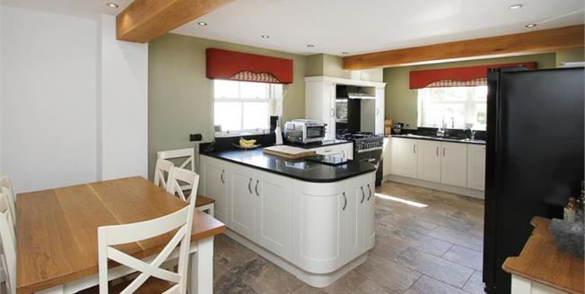 Guide Price £310,000, 4 Bedroom Detached House For Sale in Temple Normanton, S42