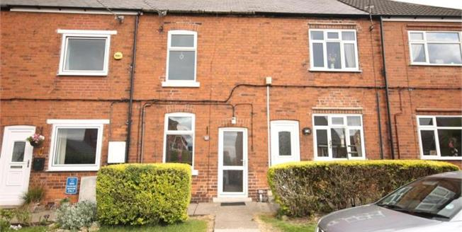 Offers in the region of £69,950, 2 Bedroom Terraced House For Sale in Stanfree, S44