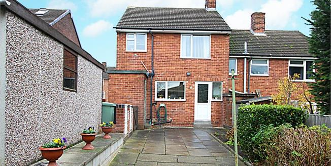 Guide Price £120,000, 2 Bedroom Semi Detached House For Sale in Chesterfield, S41