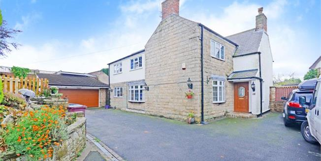 Guide Price £380,000, 4 Bedroom Detached House For Sale in Glapwell, S44