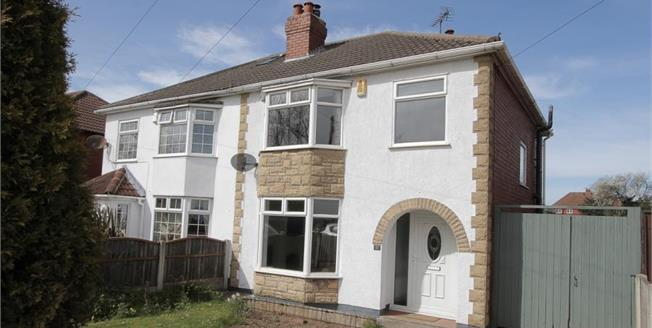 Guide Price £145,000, 3 Bedroom Semi Detached House For Sale in Glapwell, S44