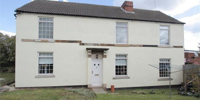 Guide Price £225,000, 3 Bedroom Detached Cottage For Sale in New Whittington, S43