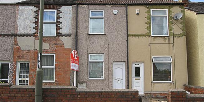 Guide Price £80,000, 2 Bedroom Terraced House For Sale in Chesterfield, S40