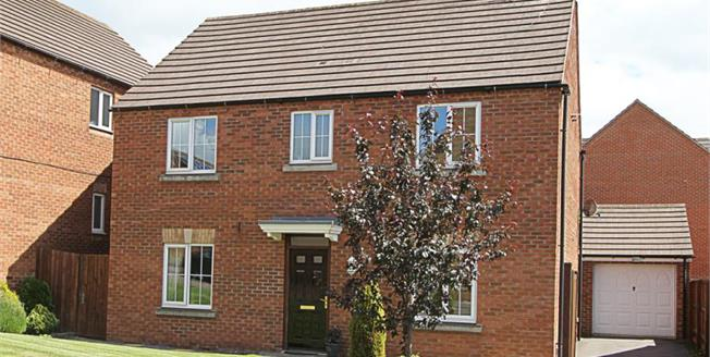 Offers Over £260,000, 4 Bedroom Detached House For Sale in Chesterfield, S41