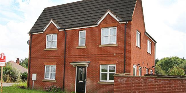 Offers in the region of £97,000, 2 Bedroom Semi Detached House For Sale in Clowne, S43