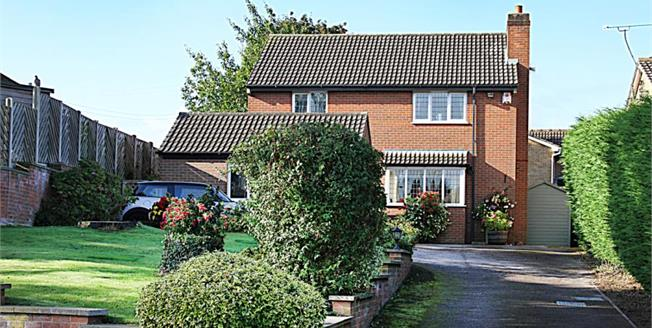 Offers in the region of £295,000, 4 Bedroom Detached House For Sale in Mastin Moor, S43