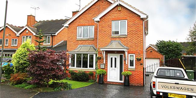 Guide Price £210,000, 3 Bedroom Detached House For Sale in Barlborough, S43