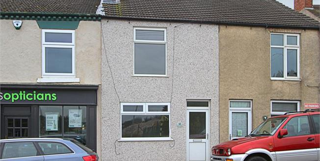 Guide Price £80,000, 2 Bedroom Terraced House For Sale in Clay Cross, S45