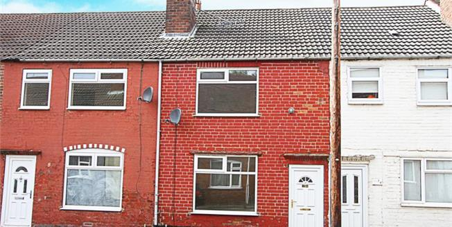 Guide Price £60,000, 2 Bedroom Terraced House For Sale in Bolsover, S44