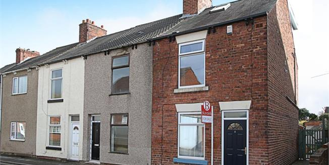 Guide Price £125,000, 3 Bedroom End of Terrace House For Sale in Hasland, S41
