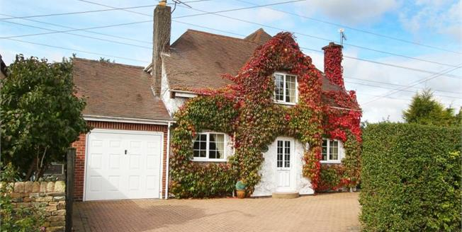 Guide Price £400,000, 4 Bedroom Detached House For Sale in Calow, S44