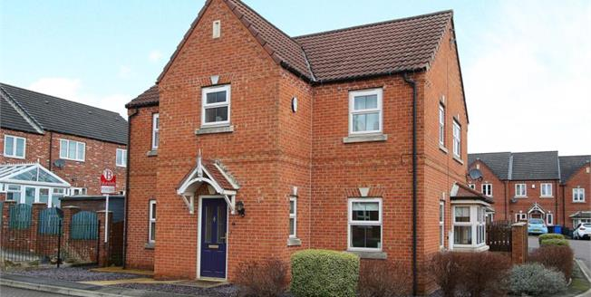 Offers in the region of £240,000, 4 Bedroom Detached House For Sale in Staveley, S43
