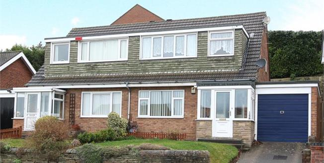 Asking Price £139,950, 3 Bedroom Semi Detached House For Sale in New Whittington, S43