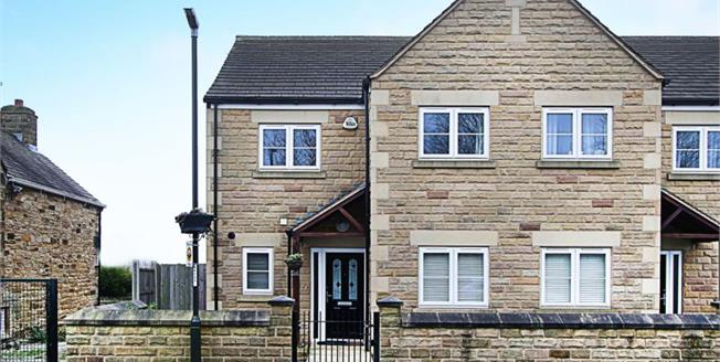 Guide Price £155,000, 3 Bedroom End of Terrace House For Sale in Staveley, S43