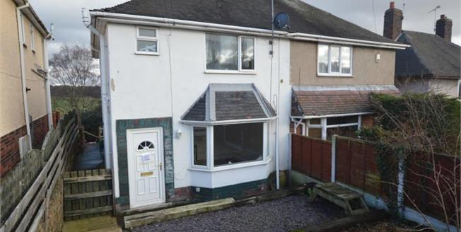 £130,000, 3 Bedroom Semi Detached House For Sale in New Whittington, S43
