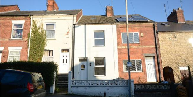 Guide Price £150,000, 4 Bedroom Terraced House For Sale in Chesterfield, S40