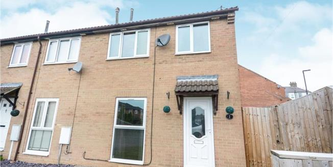£129,995, 3 Bedroom End of Terrace House For Sale in New Whittington, S43