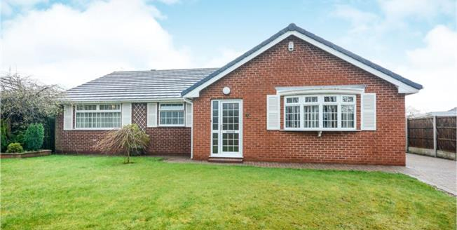 Guide Price £350,000, 2 Bedroom Detached Bungalow For Sale in Hasland, S41