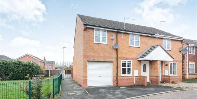 Guide Price £190,000, 3 Bedroom Semi Detached House For Sale in Chesterfield, S40