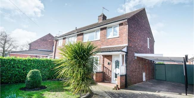 £155,000, 3 Bedroom Semi Detached House For Sale in Staveley, S43