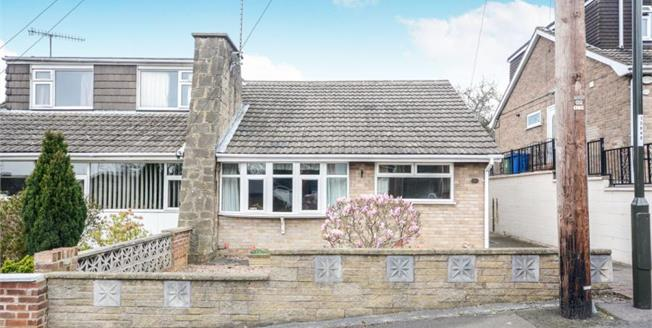 Guide Price £150,000, 2 Bedroom Semi Detached Bungalow For Sale in Old Whittington, S41