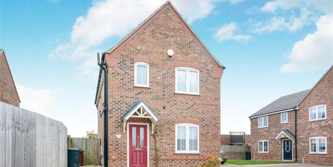 £155,000, 3 Bedroom Detached House For Sale in Arkwright Town, S44