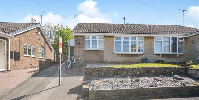 Guide Price £125,000, 2 Bedroom Semi Detached Bungalow For Sale in Clowne, S43