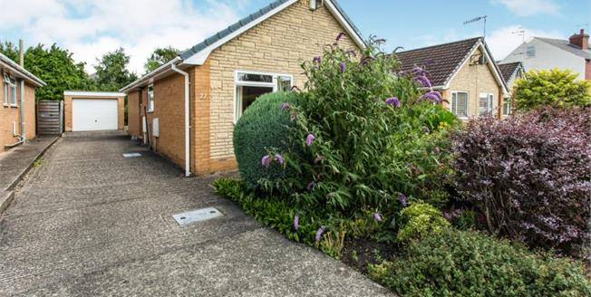 Guide Price £235,000, 2 Bedroom Detached Bungalow For Sale in Chesterfield, S40