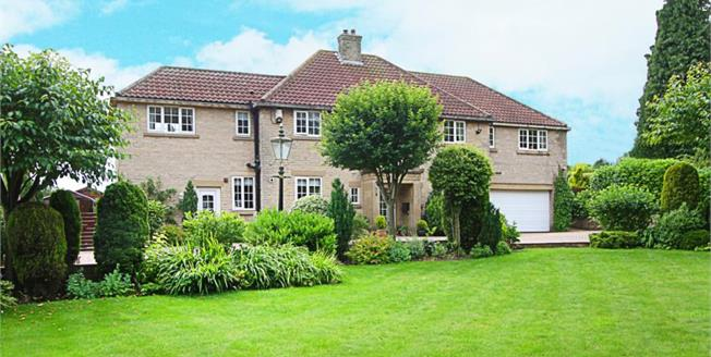 Guide Price £640,000, 5 Bedroom Detached House For Sale in Thorpe Salvin, S80