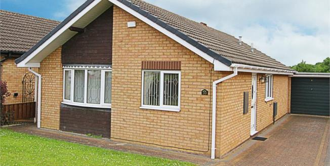 Guide Price £185,000, 2 Bedroom Detached Bungalow For Sale in Waterthorpe, S20