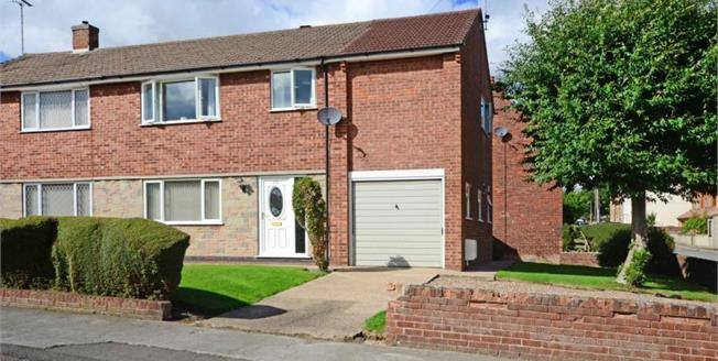 Guide Price £155,000, 4 Bedroom Semi Detached House For Sale in Eckington, S21