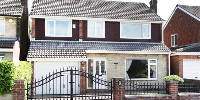 Guide Price £325,000, 5 Bedroom Detached House For Sale in Todwick, S26