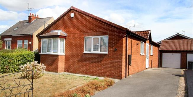 Guide Price £210,000, 3 Bedroom Detached Bungalow For Sale in Beighton, S20