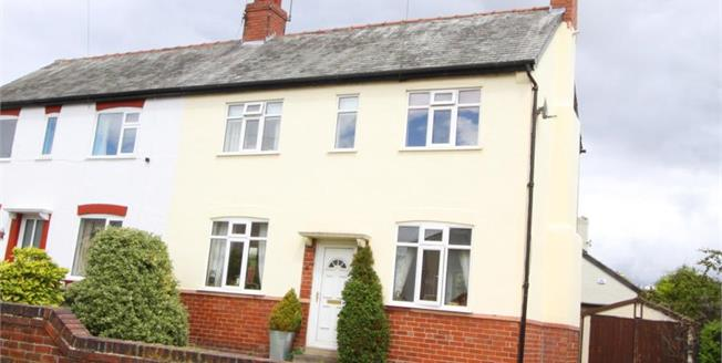 Guide Price £180,000, 3 Bedroom Semi Detached House For Sale in Dronfield, S18