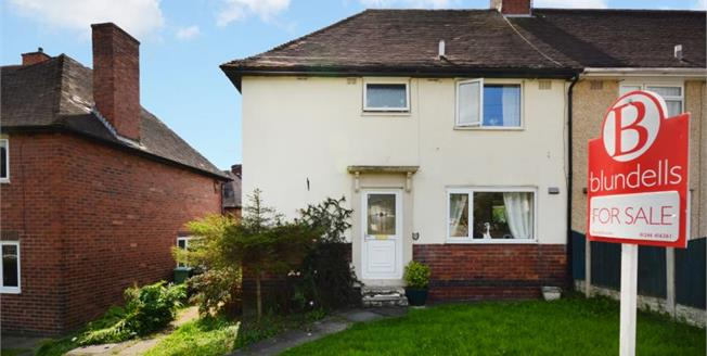 Guide Price £130,000, 3 Bedroom Semi Detached House For Sale in Unstone, S18