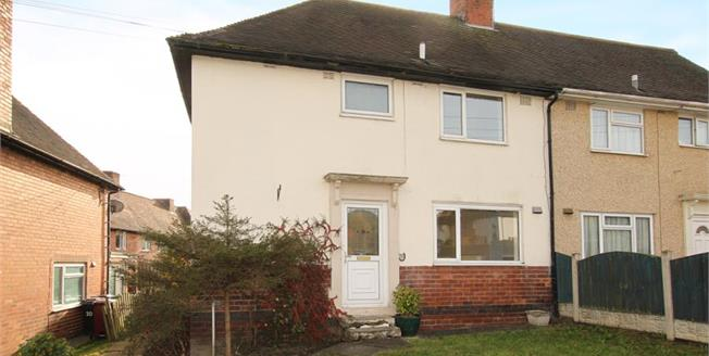 Guide Price £125,000, 3 Bedroom Semi Detached House For Sale in Unstone, S18