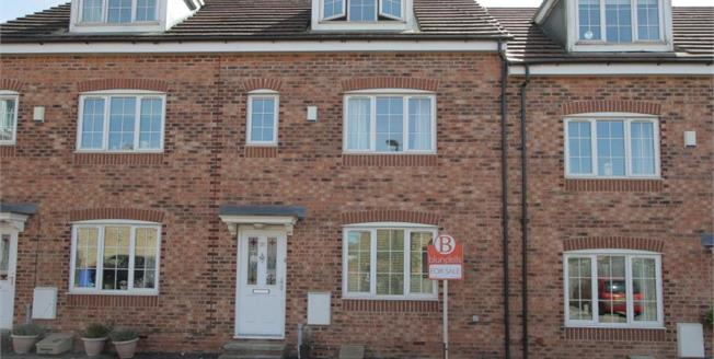 Guide Price £155,000, 4 Bedroom Town House For Sale in Sheffield, S12