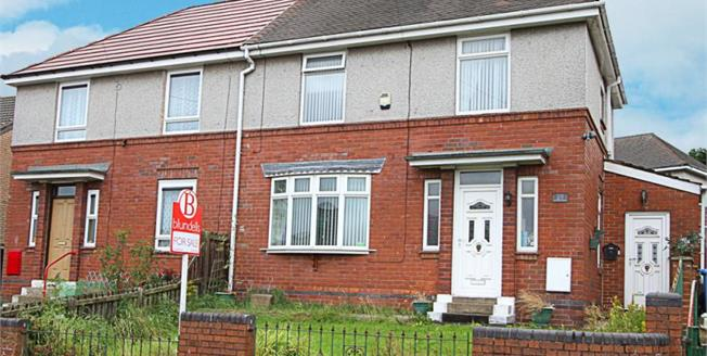 Guide Price £80,000, 3 Bedroom Semi Detached House For Sale in Sheffield, S2