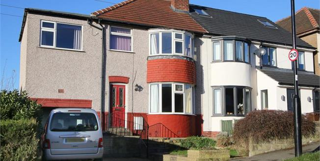 £175,000, 4 Bedroom Semi Detached House For Sale in Sheffield, S12