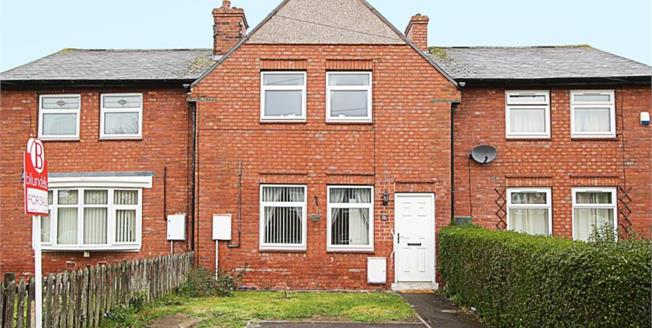 Guide Price £105,000, 2 Bedroom Terraced House For Sale in Sheffield, S13