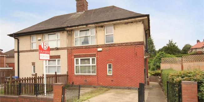 Guide Price £100,000, 3 Bedroom Semi Detached House For Sale in Sheffield, S2