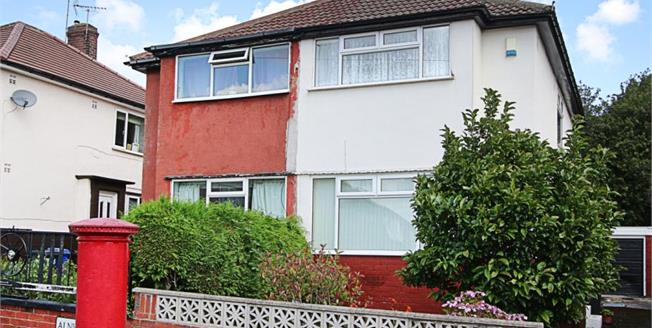 Guide Price £80,000, 3 Bedroom Semi Detached House For Sale in Sheffield, S12