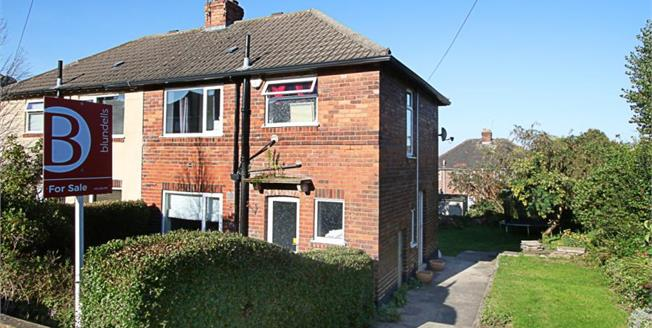 £150,000, 3 Bedroom Semi Detached House For Sale in Sheffield, S12