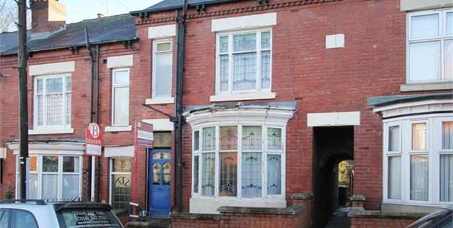 £85,000, 3 Bedroom Terraced House For Sale in Sheffield, S9