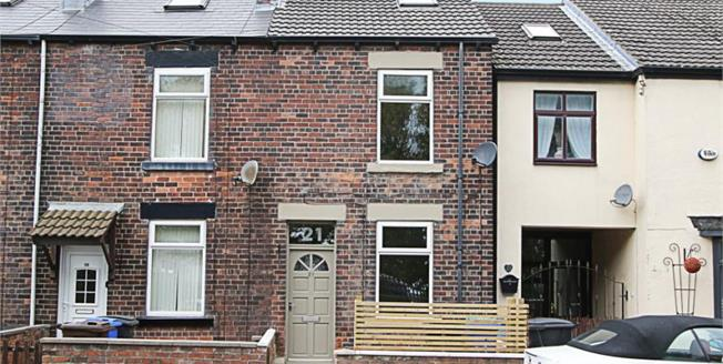 Guide Price £125,000, 3 Bedroom Terraced House For Sale in Sheffield, S13